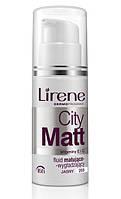Тональный флюид City Matt тоффи, 30мл, Lirene, фото 1