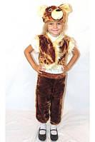 """Детский карнавальный костюм медведя  (от 3 до 6 лет) """"Karnaval"""" LM-266"""