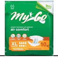 Подгузники MyCo Normal XL (102-157 см) 10 шт