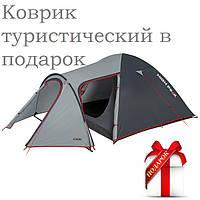 Акция по туристическим палаткам в подарок коврики туристический по числу спальных мест в палатке.