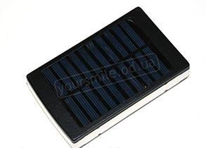 Внешний аккумулятор Power Bank UKC 15000 mAh - ФОНАРЬ, Solar на солнечной батарее, фото 2