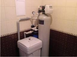 Система комплексной очистки воды в коттедж  для семьи до 3 человек.