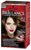BRILLANCE краска для волос Благородный каштан 862