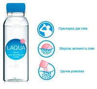 Вода для запивания лекарств ЛАКВА 190 мл