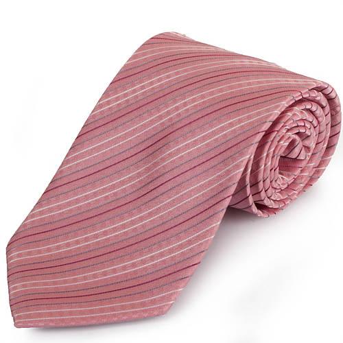 Яркий мужской широкий галстук SCHONAU & HOUCKEN (ШЕНАУ & ХОЙКЕН) FAREPS-51 розовый