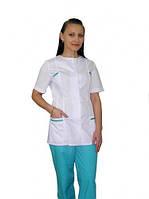 Женский медицинский костюм на пуговицах арт. 32, Стиль