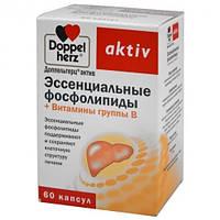 Доппельгерц Актив (Doppel herz Aktiv) Эссенциальные фосфолипиды + Витамины группы В №50 (10х5)