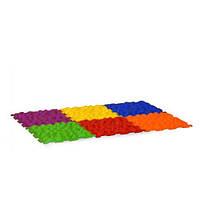 Массажный коврик 6 пазлов Здоровые ножки