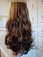 Волнистые  волосы на заколках термо