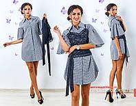 Платье рубаха и топ Тандем