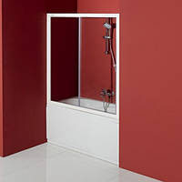 Шторка для ванны двухсекционная Kolpa San Orion TV/2D 120 проф.хром, стекло прозрачное 729778