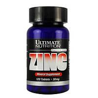Витамины ZINC Ultimate Nutrition 30 мг 120 табл