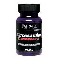 Витамины Glucosamine & CHONDROITIN Ultimate Nutrition 60 табл