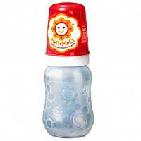 Дитяча пляшечка НЯМА з ручками анатомічна латексна соска 125 мл