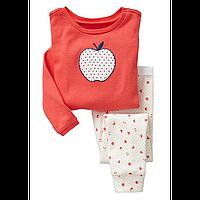 Детская пижама на девочку Белое яблочко
