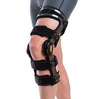 Армированный функциональный коленный ортез с ограничителем OCR200 Orliman, (Испания)