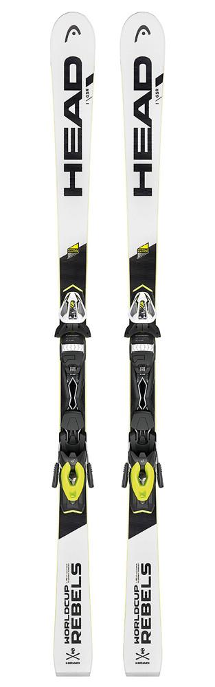 Горные лыжи Head WC Rebels iGSR AB + PR 11 white/black (MD)