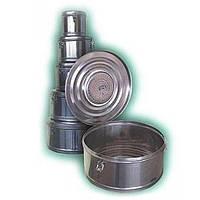 Коробка стерилизационная круглая с фильтром КСКФ-6 (6 дм3, 245мм) Биомед