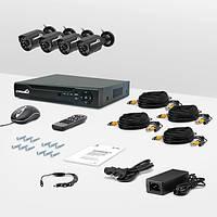 Система видеонаблюдения «установи сам» Страж Контрол 4У (УЛ-480К-4)