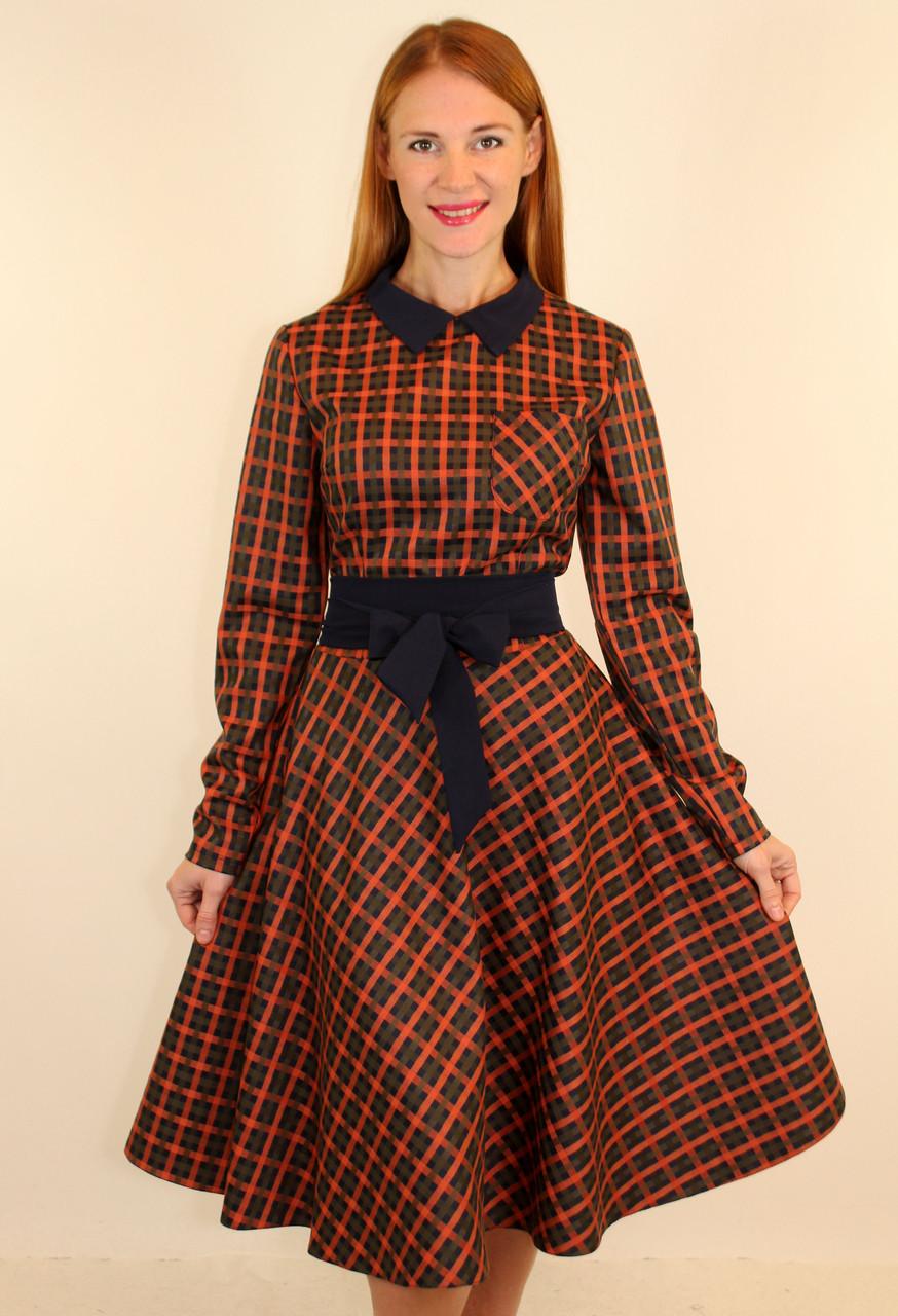2ae4c0b83771196 Модное платье осень-зима 44-50 р ( разные цвета ) - Оптовый интернет