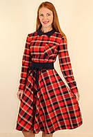 Модное платье осень-зима 44-50 р ( разные цвета )