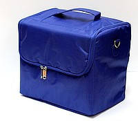 Чемодан-сумка тканевый для инструмента.Цвет-синий.Размеры 29х21х27