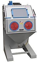 Инжекторная дробеструйная кабина ECONOMIC 1000, производства компании GLÄSNER, ФРГ