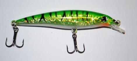 Воблер Kaida для риболовлі, довжина - 85мм, 1,5-2,0 м, вага - 10г