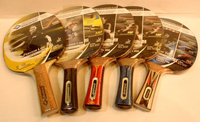 Ракетки для настільного тенісу DONIC