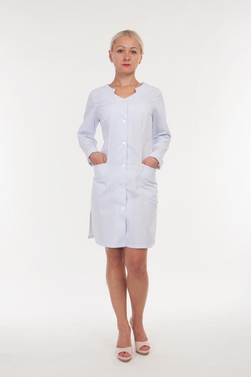 Якісний медичний халат з кишенями