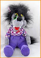 Мягкая игрушка волк из Ну погоди 32 см 11160