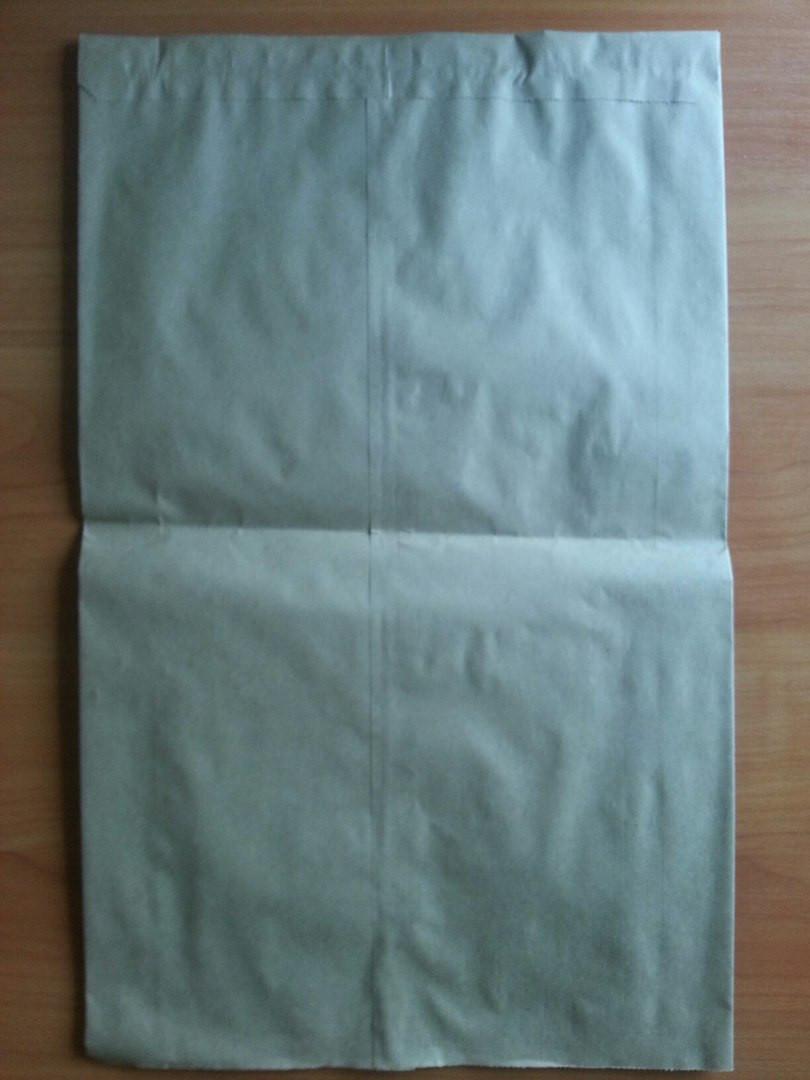Бумажный пакет саше бурый 400х250х80 (910)