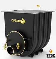 Печь калориферная «Canada» с варочной поверхностью «02»