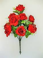 Б. Роза раскрытая  с серебряной присыпкой