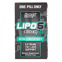 Жиросжигатель Lipo-6 Black Hers Ultra Concentrate Nutrex Research 60 black-капс