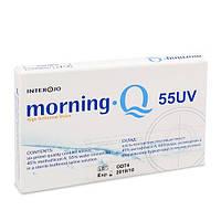 Контактные линзы Morning Q 55 UV опт. сила +7 (уп. 1 шт)