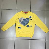 Детская одежда оптом Джемпер (начёс) для девочек-подростков оптом р.9-10 и 12-13 лет