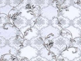 Обои на стену, серый, цветы, нежный, дуплекс, бумажная основа, B64,4 Артемида 8095-07, 0,53*10м, фото 3
