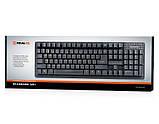 Клавиатура REAL-EL Standard 501 USB черная, фото 4