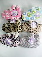 Домашние тапочки угги на меховой подкладке для девочек, Ollike, размеры 23/27,27/31,31/35, арт. 302