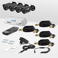 Система видеонаблюдения «установи сам» Страж Превент 4У (УЛ-480К-4)
