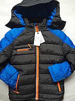 Куртка зима, одежда для мальчика на рост 140,146,164