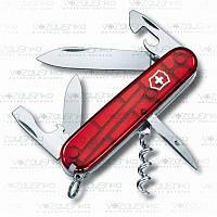 Нож Victorinox Spartan 1.3603.t красный прозрачный, 13 функций, фото 1