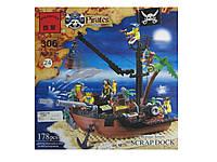 Конструктор BRICK 306 корабель піратів, 178 дет., кор., фото 1