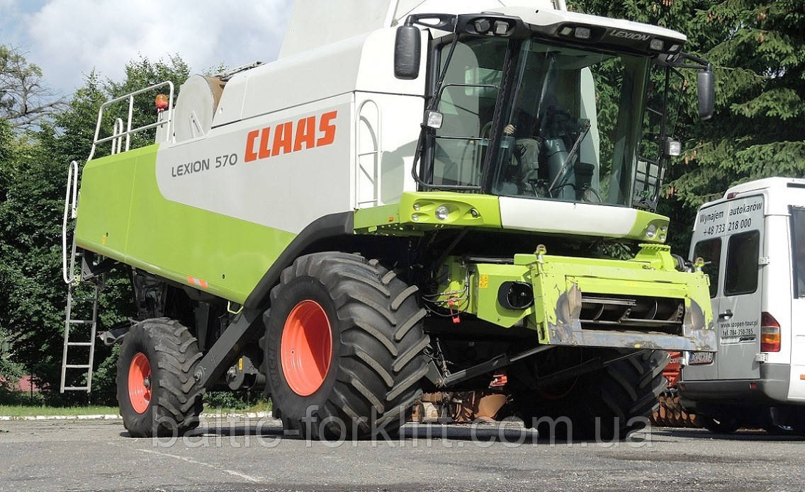 Комбайн зерноуборочный Сlaas LEXION 570