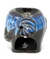 """Аромалампа """"Слон"""" синий (9х9х7 см)"""