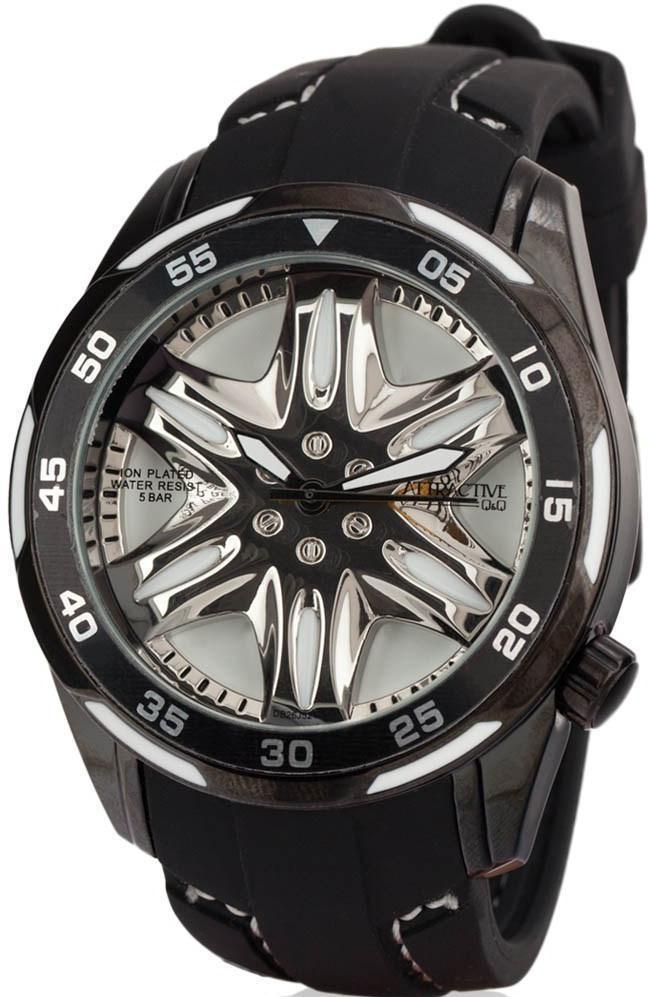 Наручные мужские часы Q&Q DB26J521Y оригинал