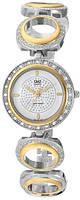 Наручные женские часы Q&Q F341-401Y оригинал