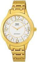 Наручные женские часы Q&Q F477-004Y оригинал