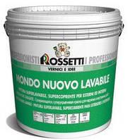 Акриловая универсальная краска MONDO NUOVO LAVABILE (14 л). Rossetti